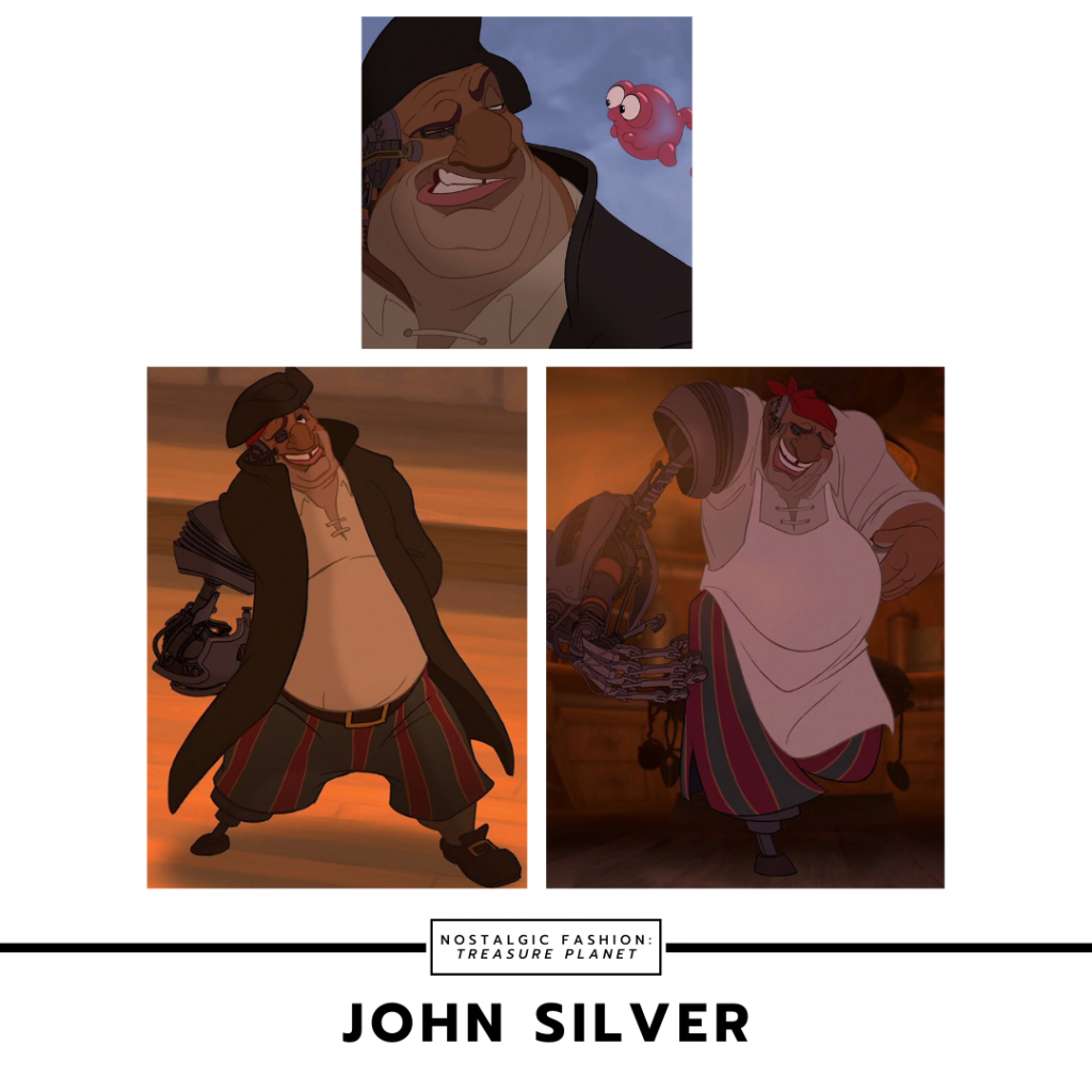 John Silver from Treasure Planet