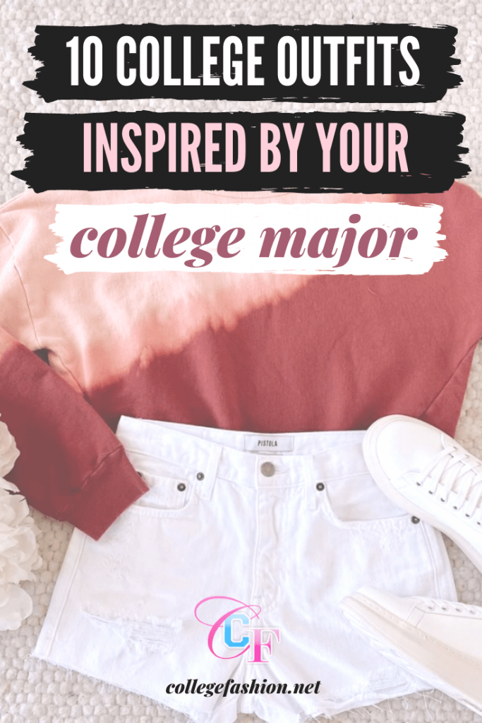 Cute college outfits inspired by your major