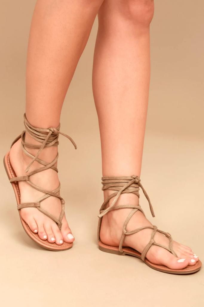 Emilia sandals from Lulus