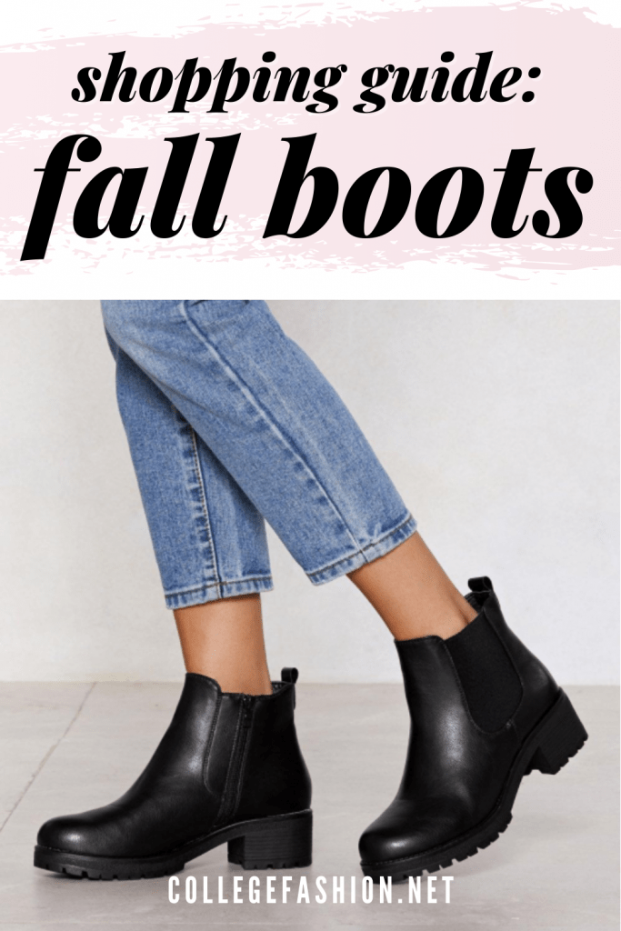 Fall 2020 boots shopping guide