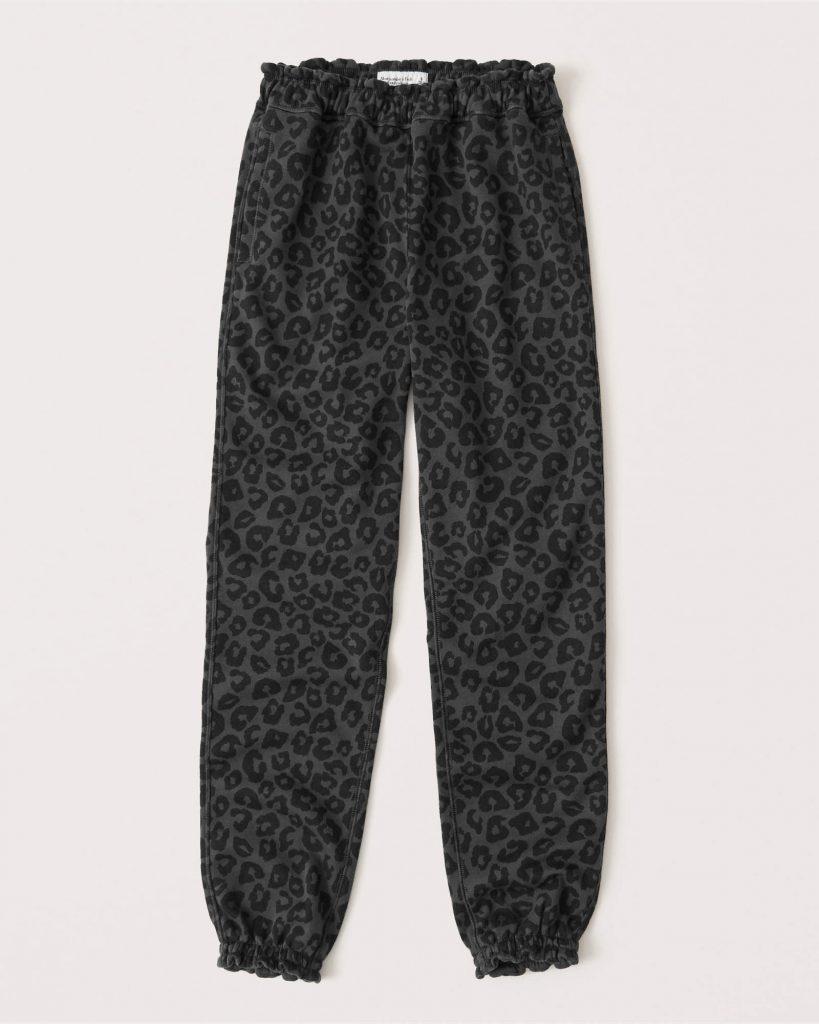 A&F leopard sweats