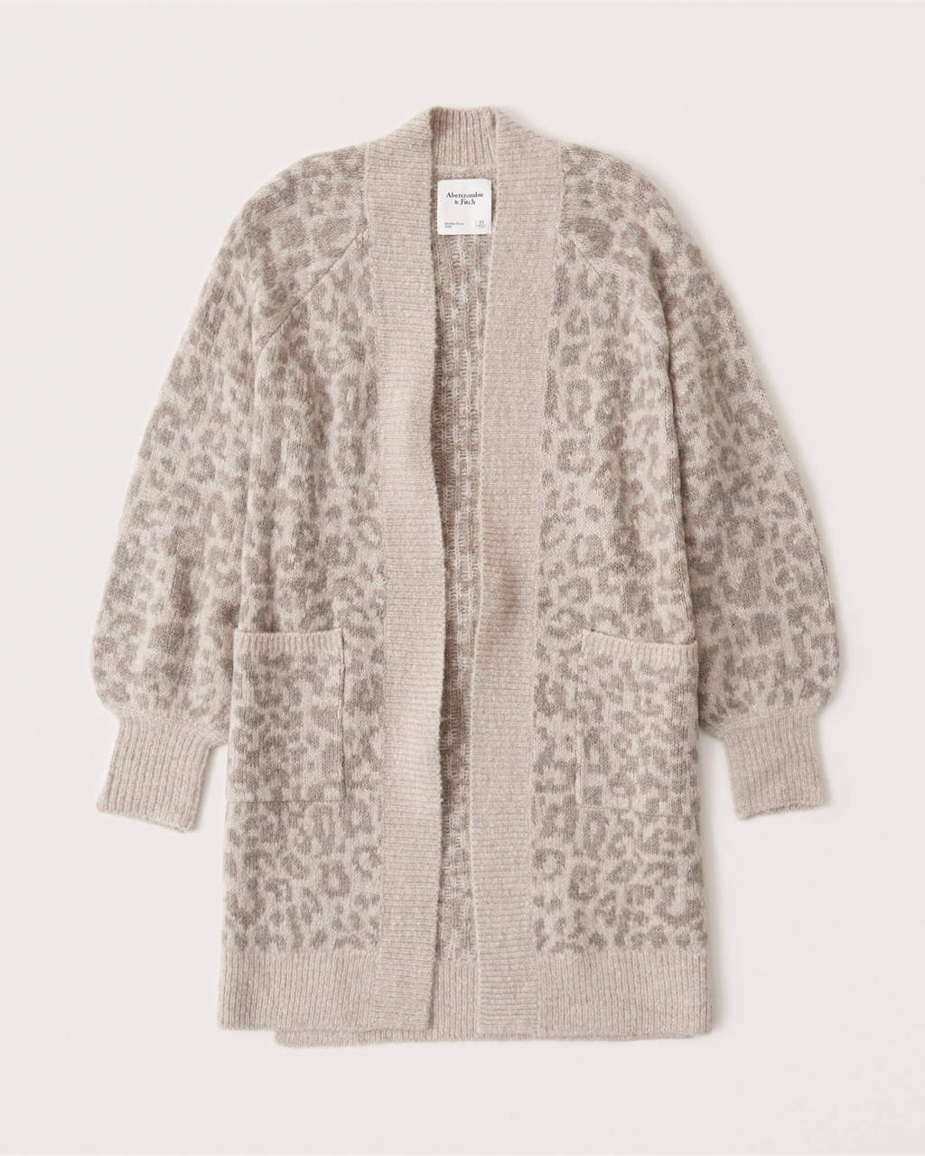 Abercrombie & Fitch Leopard Duster Cardigan