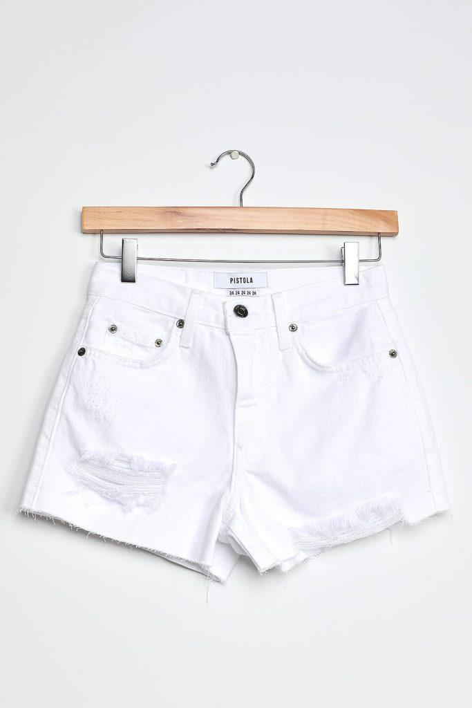 Lulus Nova white shorts