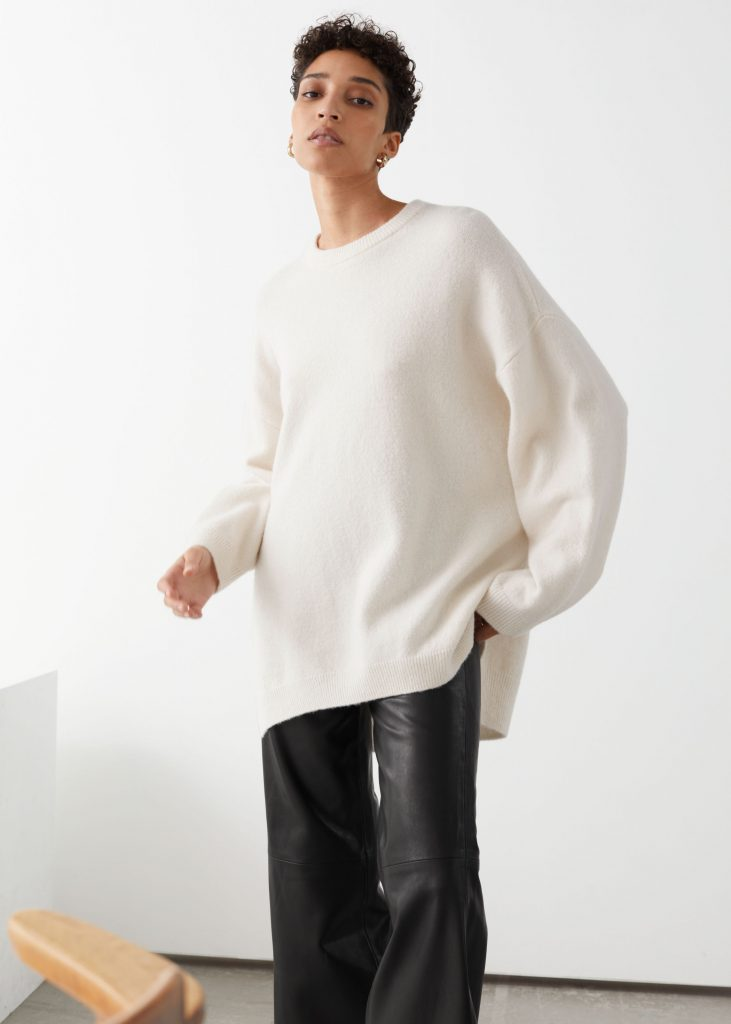 Oversized wool blend sweater from & Other Stories