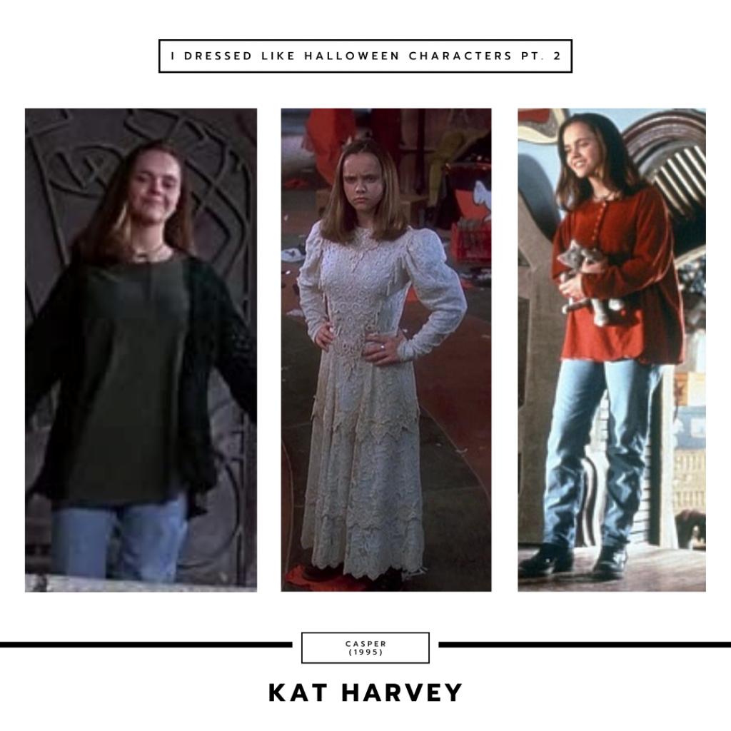 Kat Harvey from Casper the Friendly Ghost