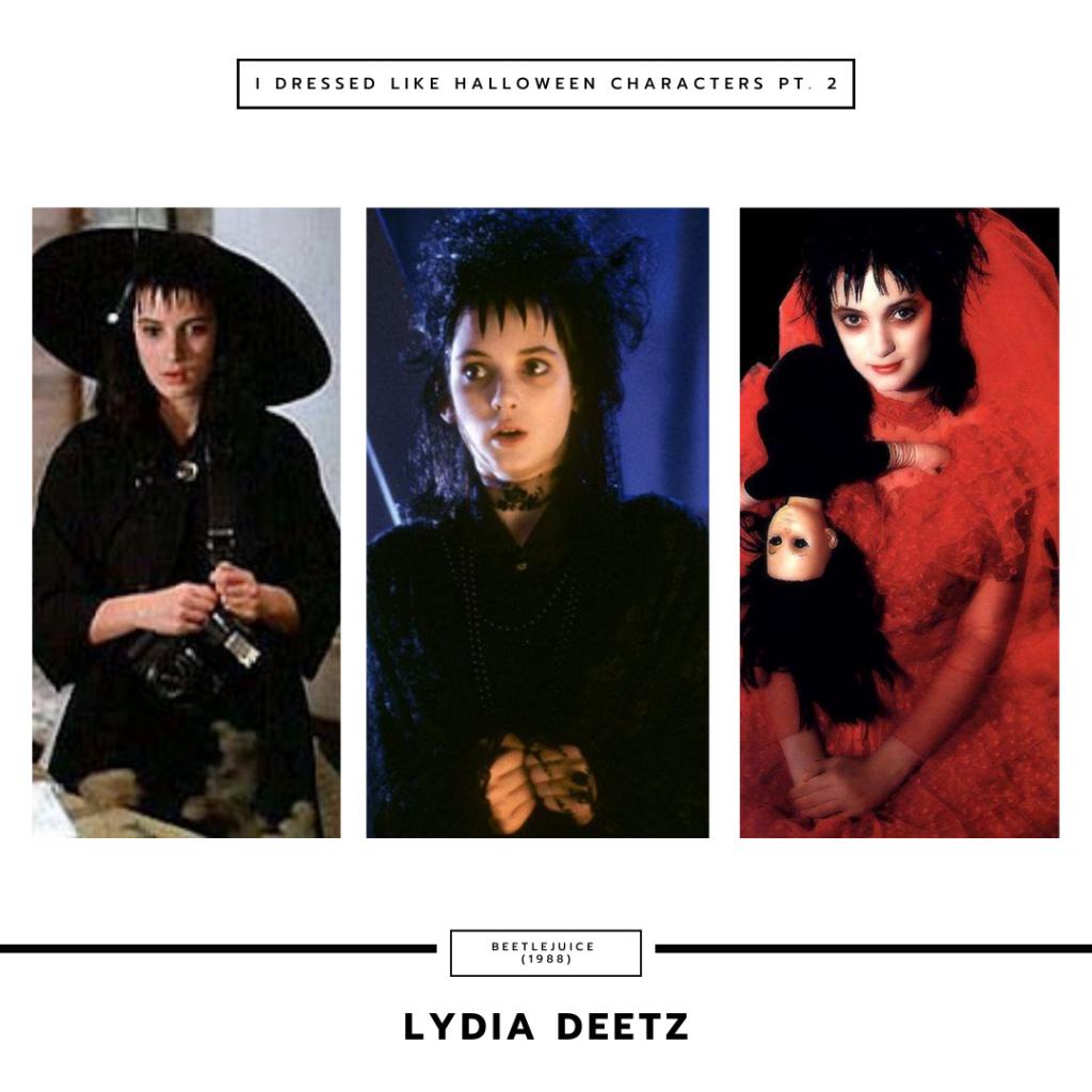 Lydia Deetz from Beetlejuice