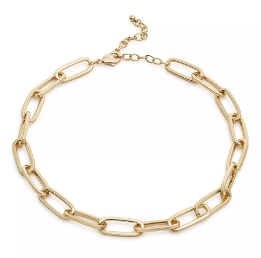Product photo of a gold chain from Bloomingdale's