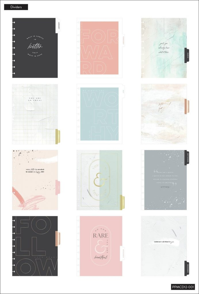 The Happy Planner dividers