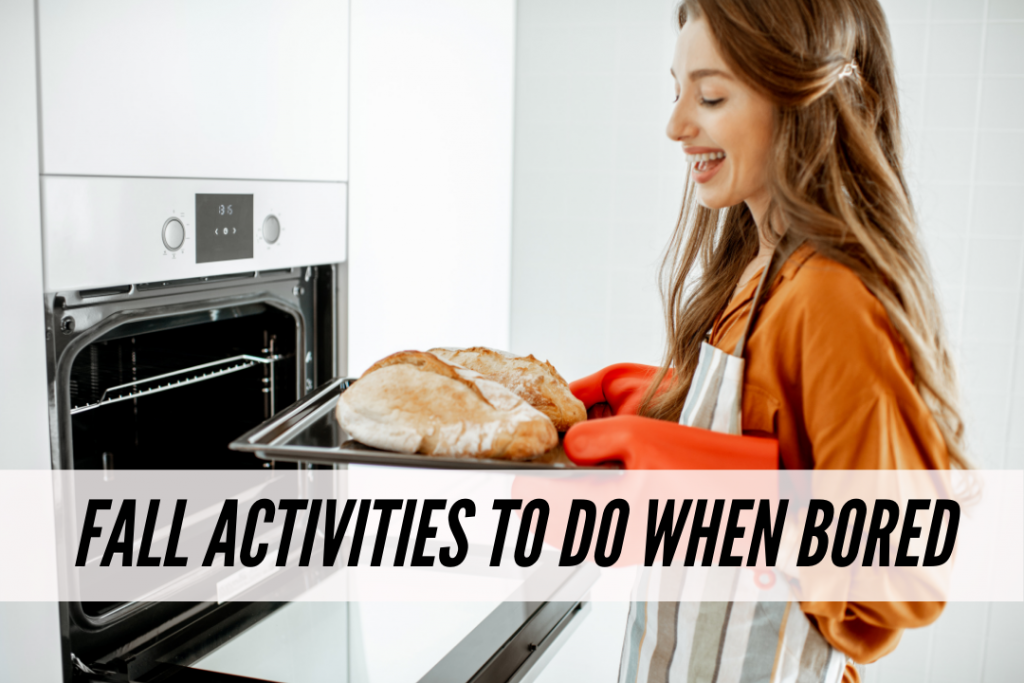 Fall activities to do when you're bored that are social distancing approved