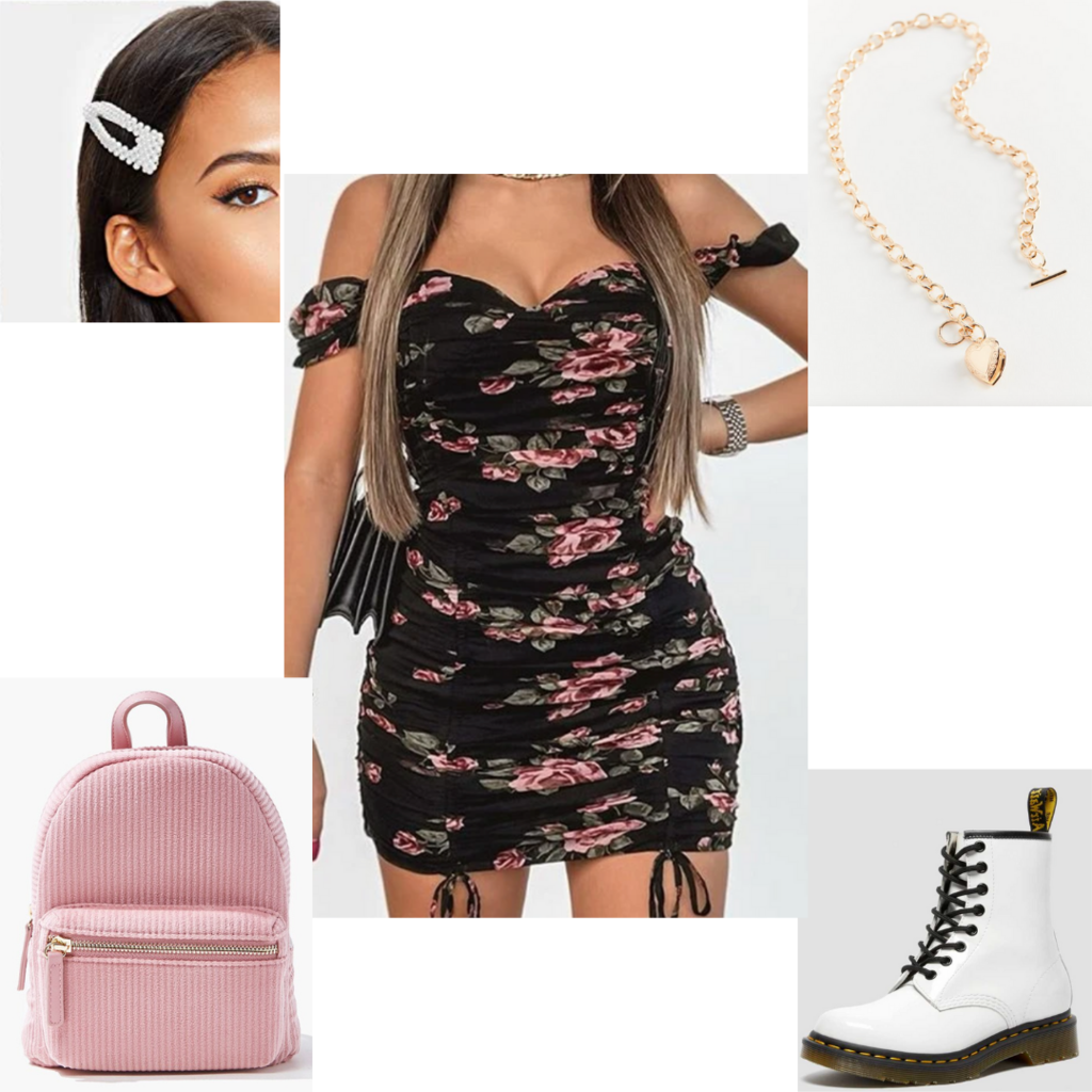Girly Doc Martens outfit