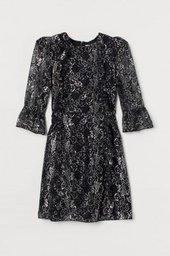 H&M x The Vampire's Wife Lace Mini Dress