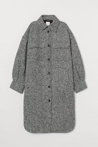 H&M Long Shirt Jacket