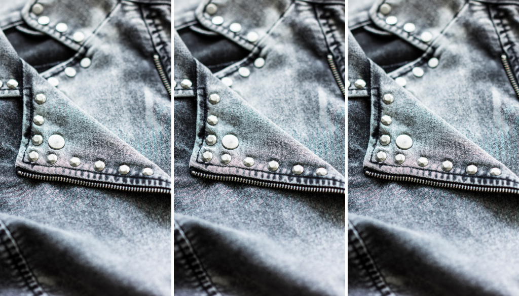 DIY jeans ideas we love - photo of studded jeans