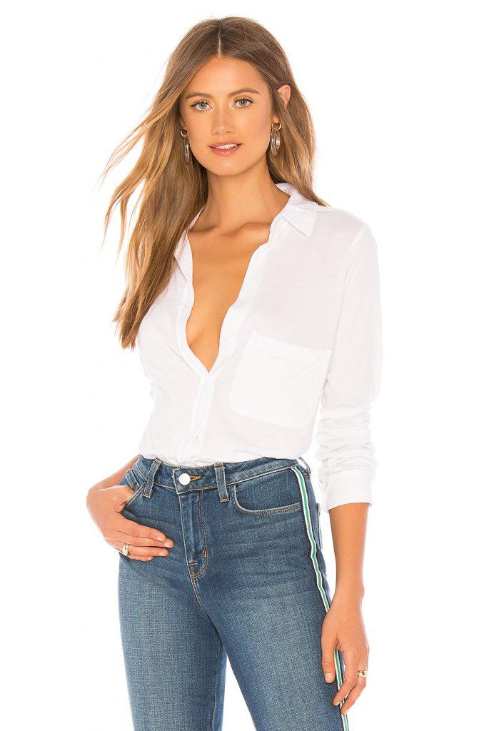 White shirt from Revolve