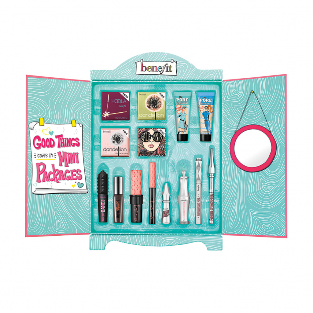 Christmas gifts for college girls - Benefit mini superstar set