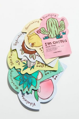 Superfood face mask set from Urban Outfitters