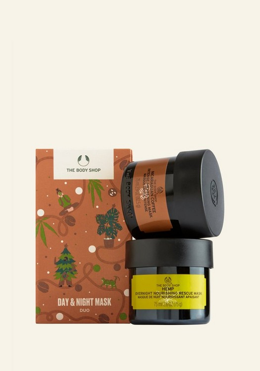Christmas gifts for college girls - The body shop day and night mask duo