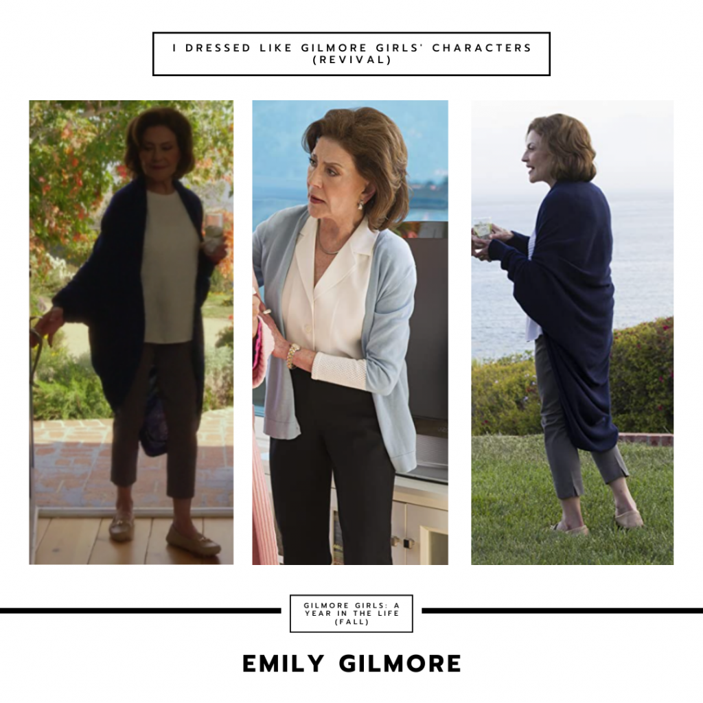 Emily Gilmore in Gilmore Girls a Year in the Life