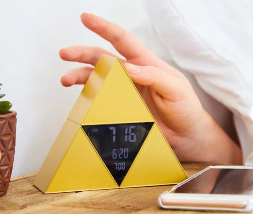 Triforce alarm clock