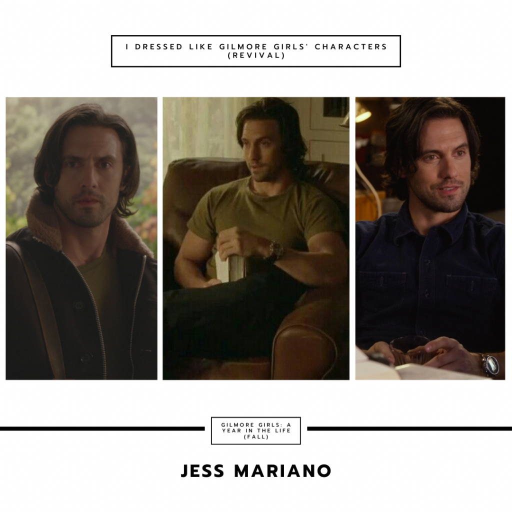 Jess Mariano in Gilmore Girls a Year in the Life