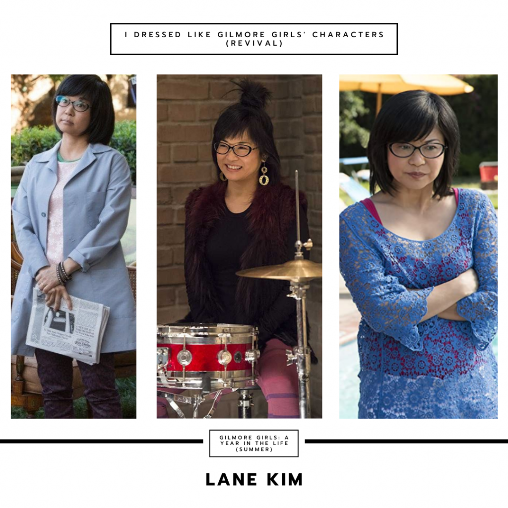 Lane Kim from Gilmore Girls a Year in the Life