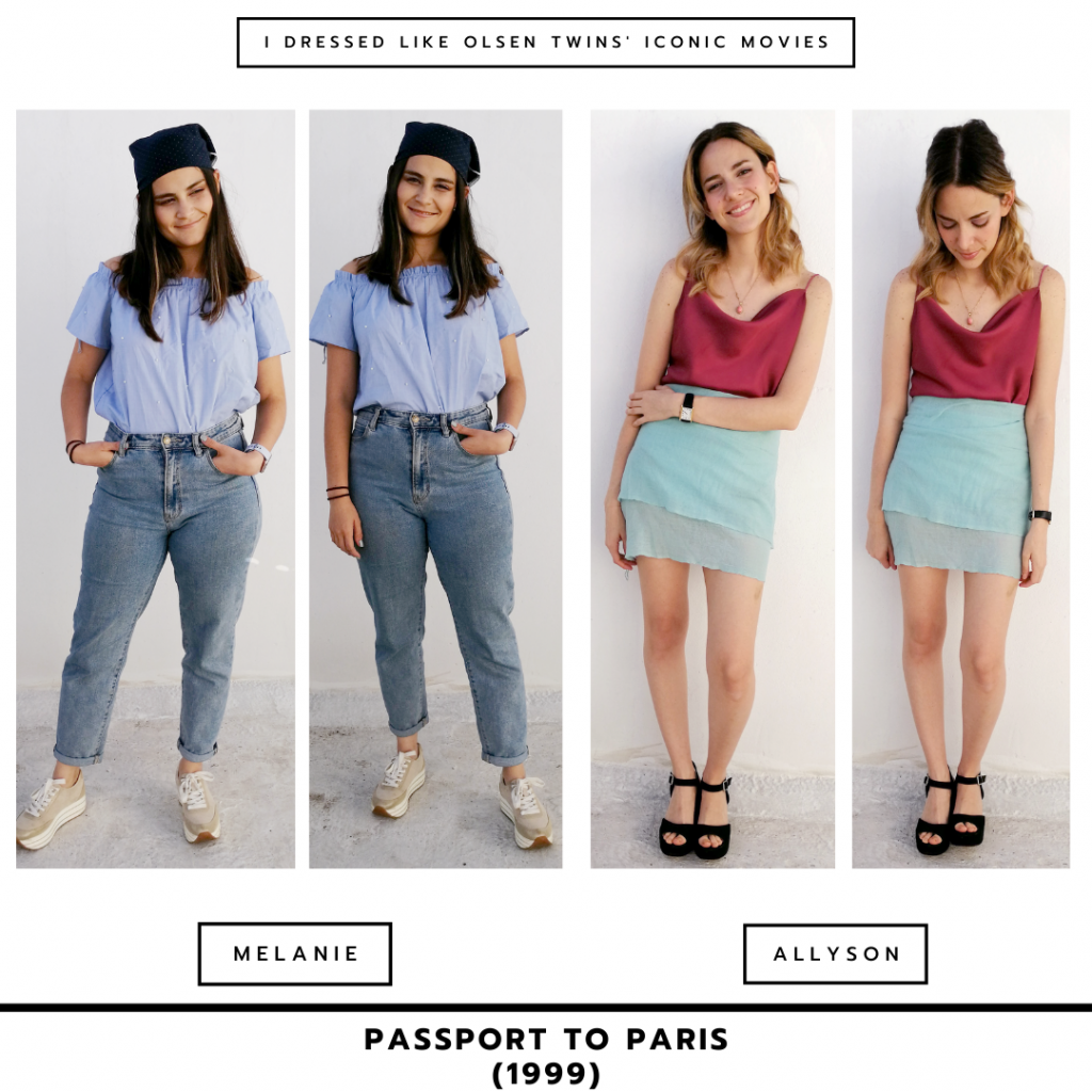 Passport to Paris outfits inspired by Mary-Kate and Ashley Olsen