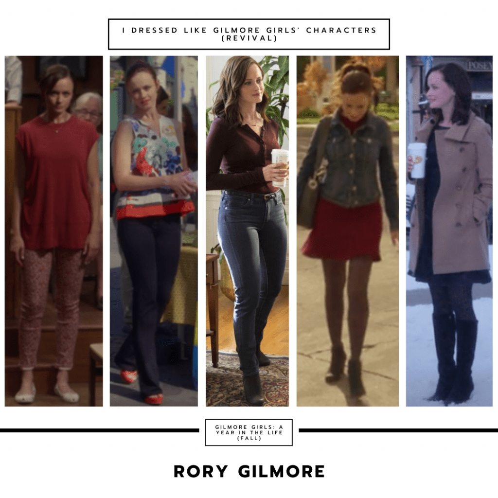 Rory Gilmore in Gilmore Girls a Year in the Life