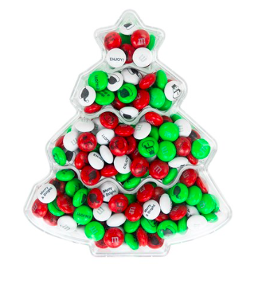 Christmas gift ideas for parents - personalized m&ms