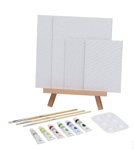 Mini easel set for parents