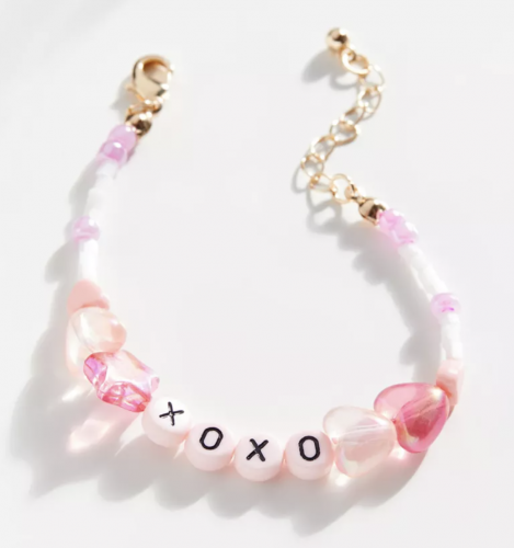 Xoxo beaded bracelet from Urban Outfitters
