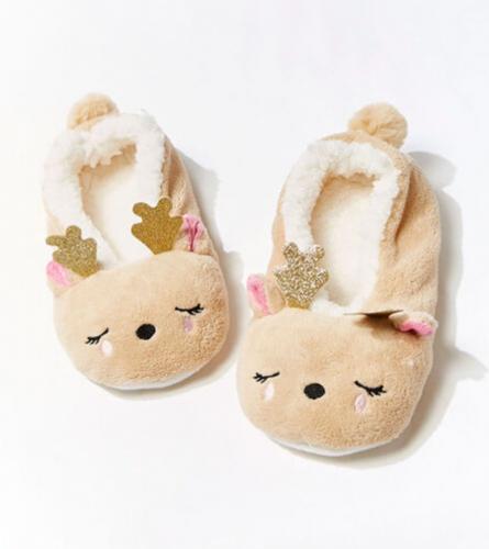 Reindeer slippers from Forever 21