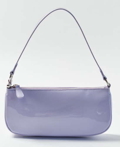 Lavender baguette bag from Urban Outfitters