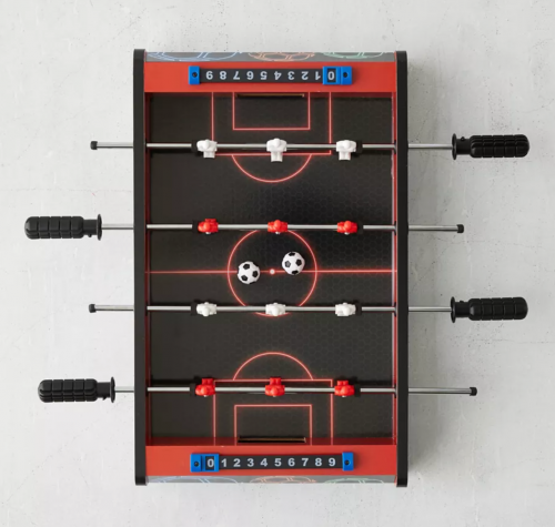 Mini foosball game from Urban Outfitters