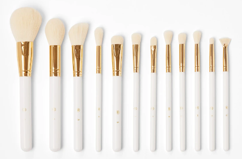 November beauty release roundup: product photo of the There's Snowbody Like You brush set