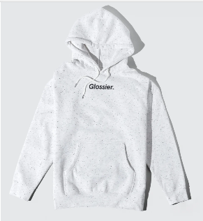 Product photo of the Glossier Hoodie