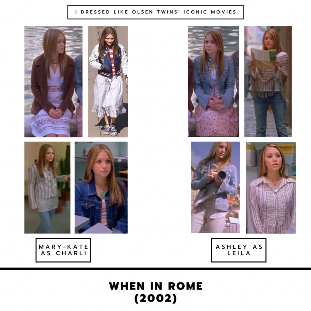 The Olsen Twins in When in Rome