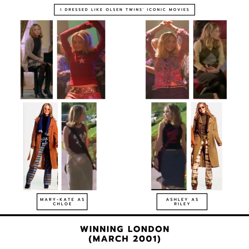 The Olsen twins in Winning London