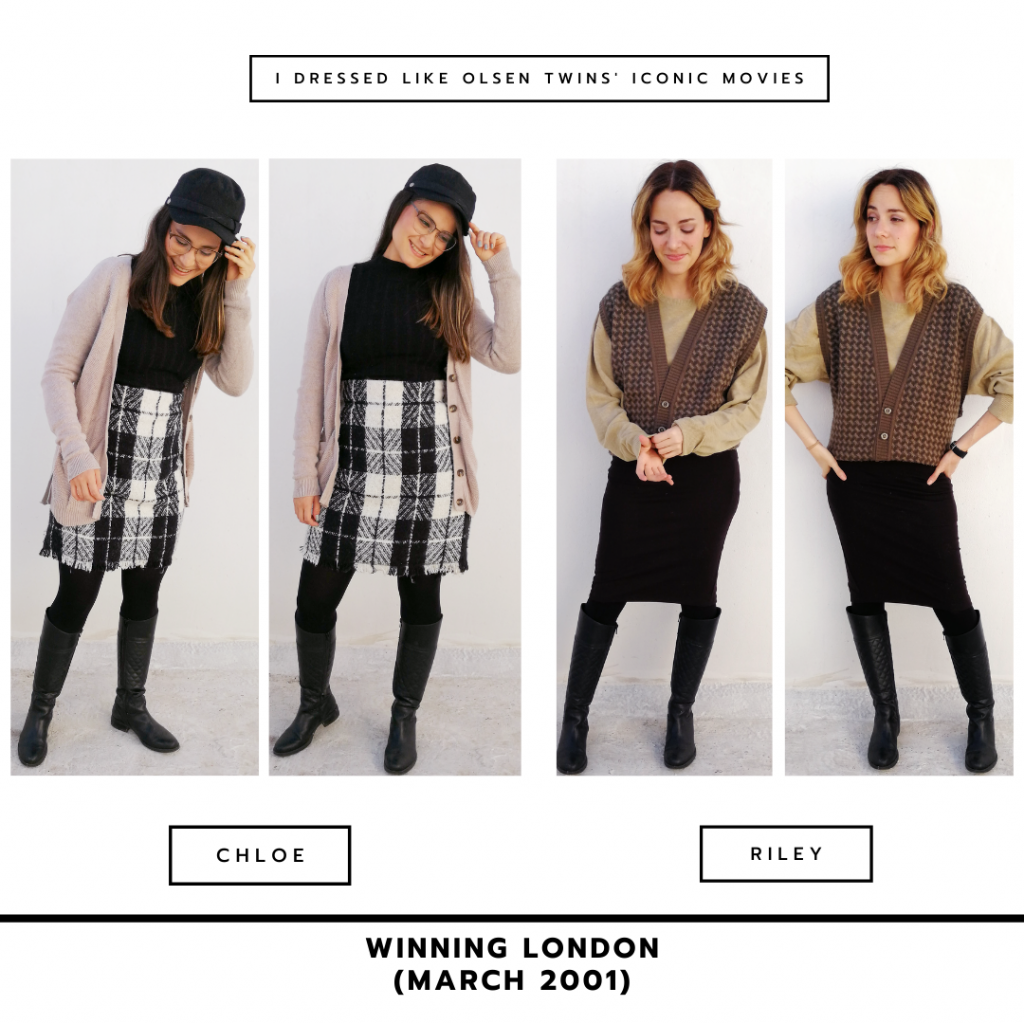 Outfits inspired by Mary-Kate and Ashley Olsen in Winning London