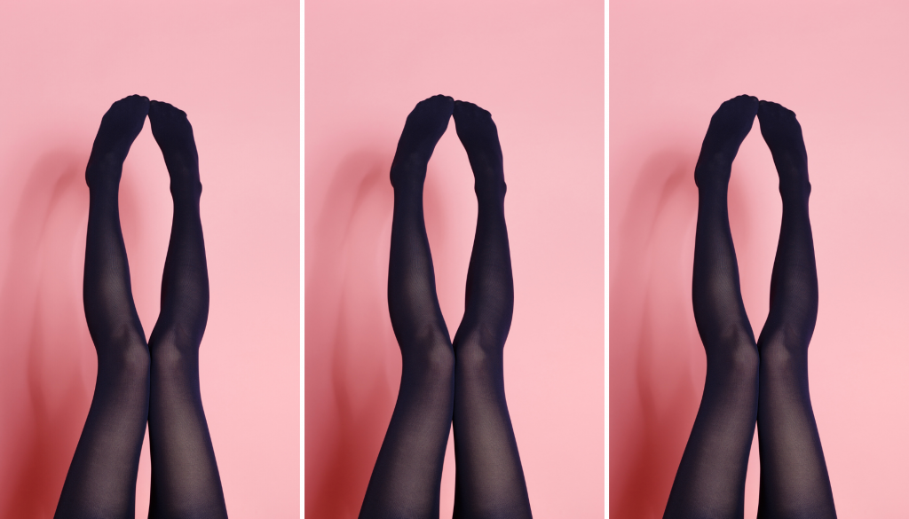 How to wear black tights