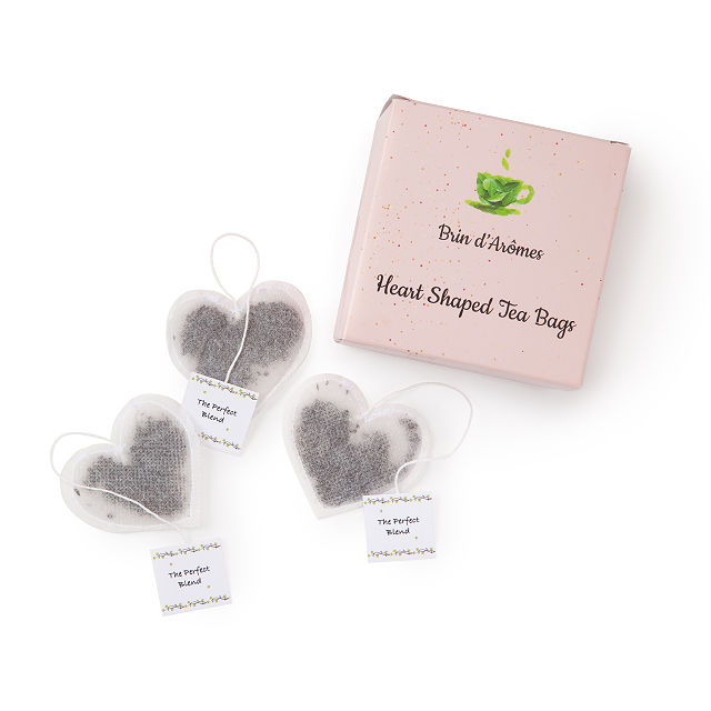 Best gifts under - heart shaped tea bags