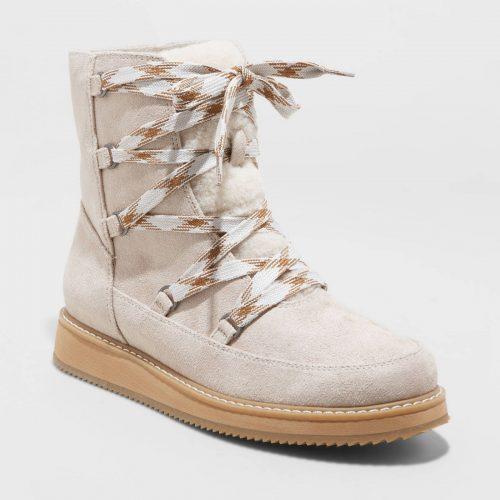 Amari Lace Up Sport Bottom Hiking Boots