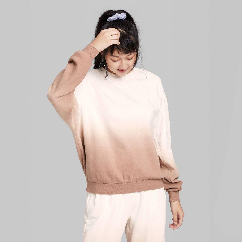 Ombre sweatshirt from Target