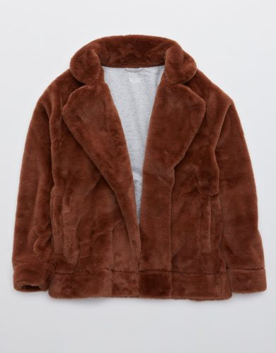 American Eagle Faux Fur Jacket