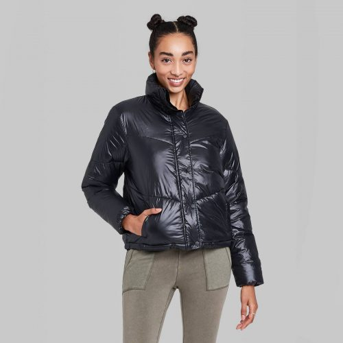 Target Wild Fable Retro Puffer Jacket