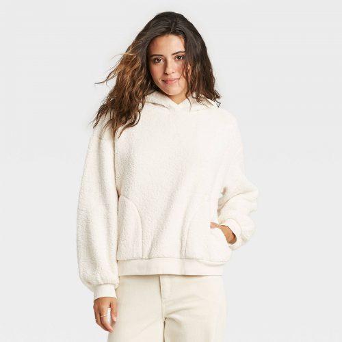 Target Sherpa Hooded Sweatshirt