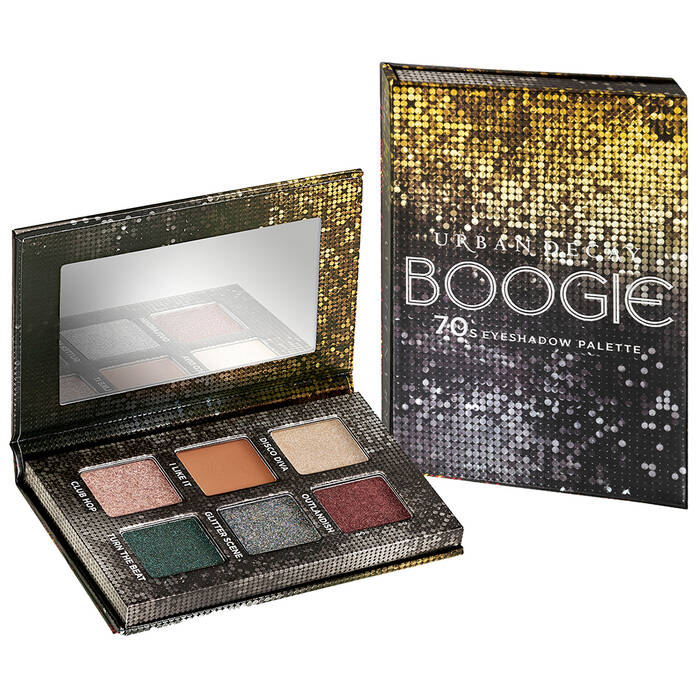 Product photo of the Urban Decay Decades Mini Eyeshadow Palette in