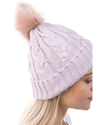 Lavender ski beanie