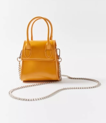 2021 Trends - Yellow Tones - yellow purse from Urban Outfitters