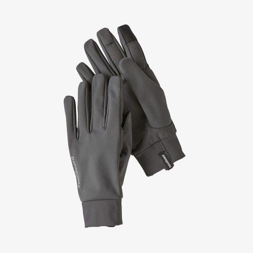 Black ski gloves from Patagonia