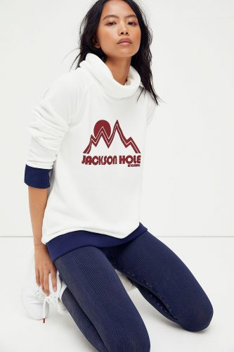 Jackson Hole hoodie from Free People - the best ski fashion finds